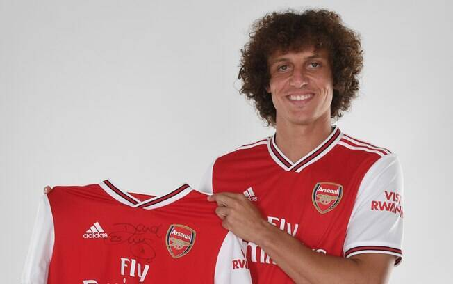 David Luiz é o novo reforço do Arsenal