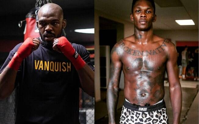 Jon Jones e Israel Adesanya