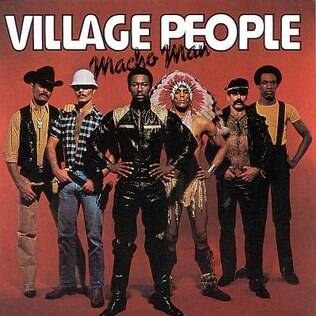 Capa do famoso single 'Macho Man' do Village People