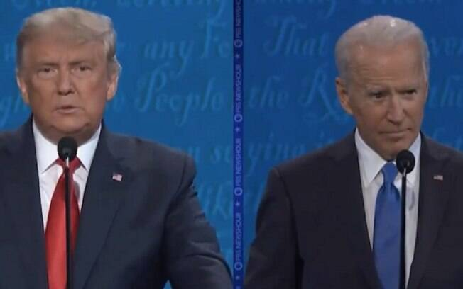 Segundo debate entre Donald Trump e Joe Biden