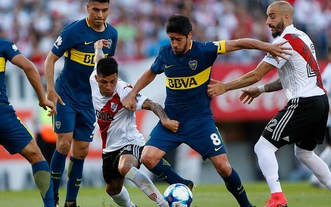 Final da Libertadores 2018 entre Boca Juniors e River Plate agita mundo do futebol