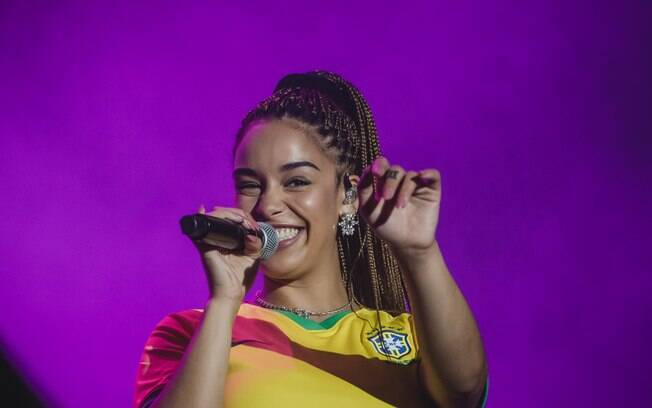 a cantora Jorja Smith