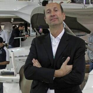 Massimo Radice, do estaleiro italiano Sessa Marine
