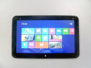 Como tablet, Envy x2 é prejudicado pelo Windows 8