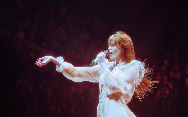 Florence Welch, vocalista do Florence + the Machine