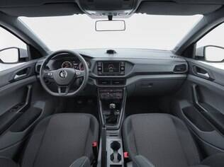 Interior do VW T-Cross