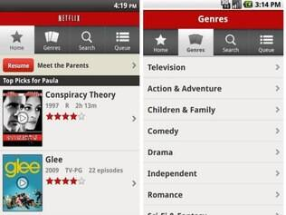 Aplicativo oficial do Netflix para Android