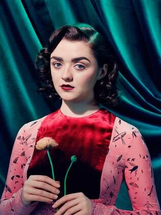 Maisie Williams, a Arya Stark de