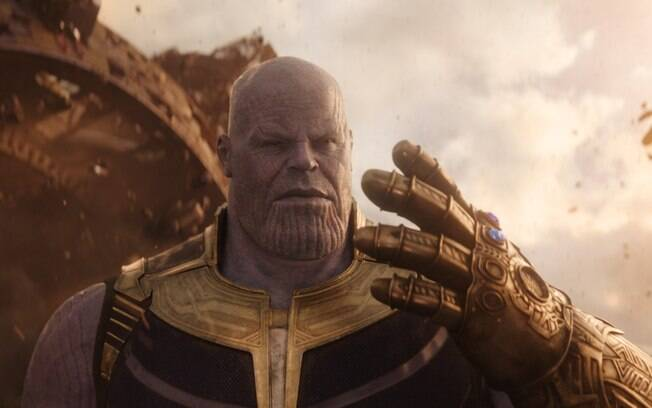 Thanos, o super vilão do filme