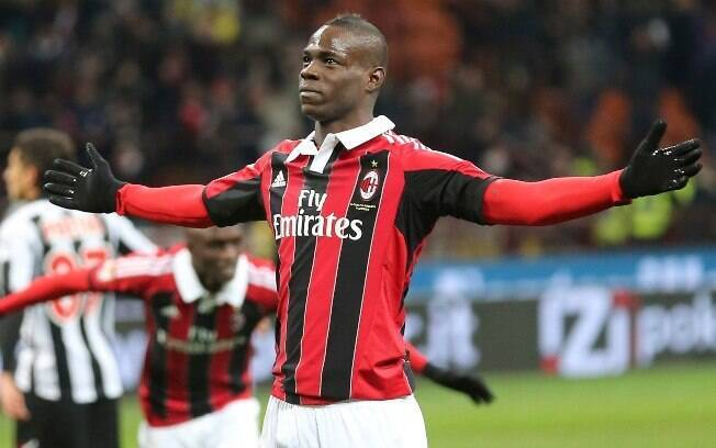 Balotelli no Milan
