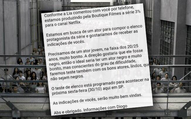 E-mail do castig de
