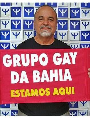 Luiz Mott, presidente do Grupo Gay da Bahia