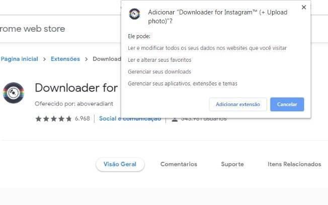 Print de Downloader for Instagram