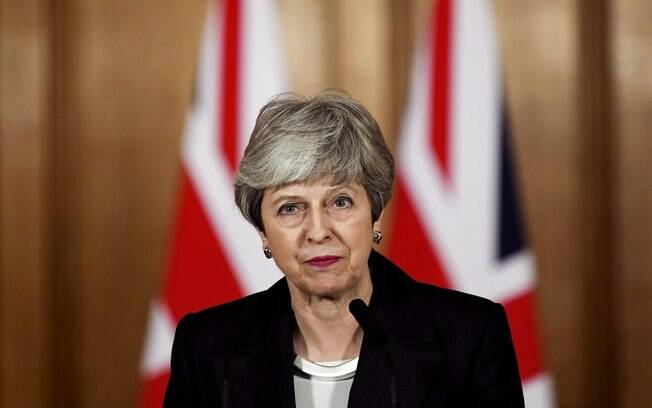 Theresa May%2C primeira-ministra do Reino Unido