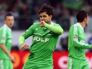 Diego comanda o time do Wolfsburg
