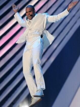 Chris Brown no VMA de 2011