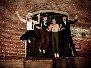 A banda Red Hot Chili Peppers