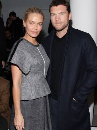 Lara Bingle e Sam Worthington