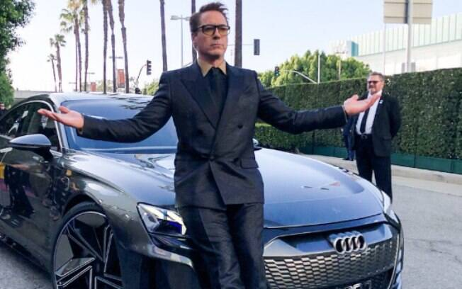 Robert Downey Jr. e Audi e-tron