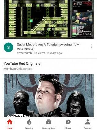 Novo design do Youtube realocou abas para a parte inferior da página