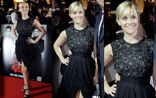 A atriz Reese Witherspoon no red carpet de