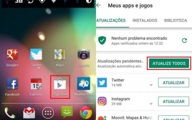 atualizar whatsapp no Android