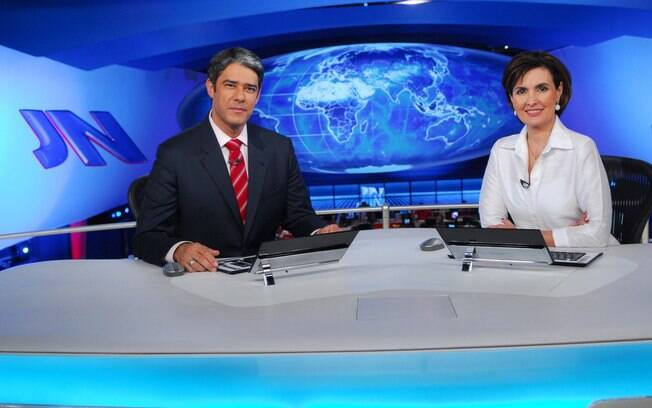 William Bonner e Fátima Bernardes comandaram o telejornal mais importante da emissora global durante muitos anos