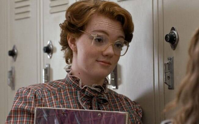 "Shannon Purser em ""Stranger Things"""