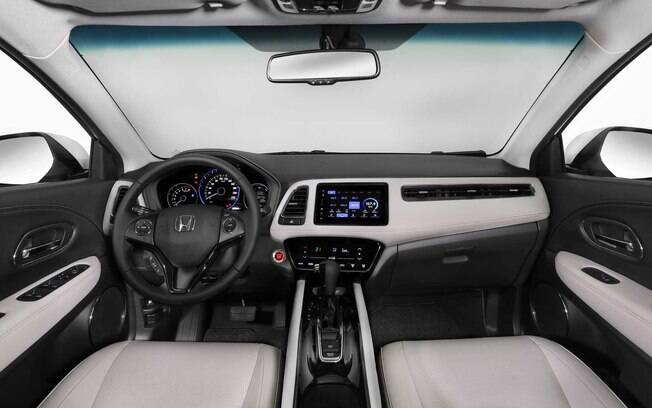 Interior do Honda Hr-V Turbo
