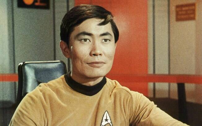 Geroge Takei viveu Sulu no seriado de TV do 'Star Trek'