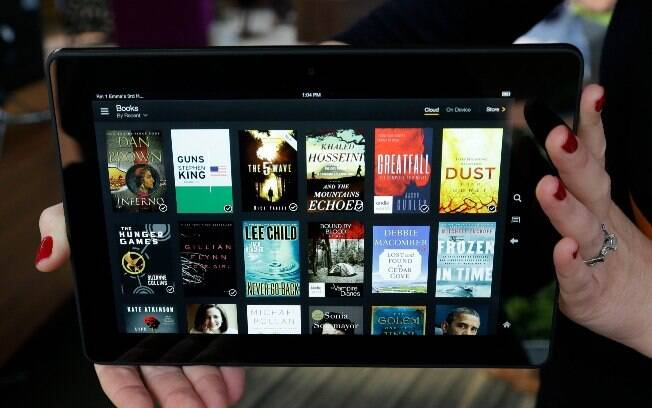 Kindle Fire HDX é o novo tablet da Amazon