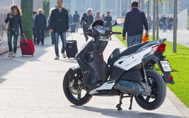 Kymco, scooter, Agility