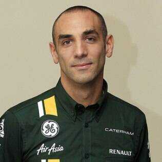 Cyril Abiteboul é chefe da Caterham