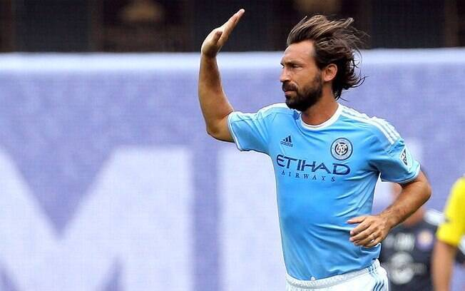O último clube que Pirlo demonstrou sua classe foi o New York City