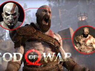 Cenas do novo God of War