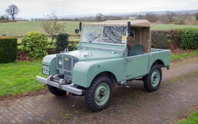 Land Rover Series I Chassis #149 Side Plate Engine 1948