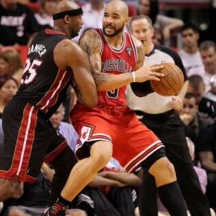 Carlos Boozer, ala-pivô do Chicago Bulls
